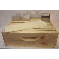Cut Comb Honey Super Kit