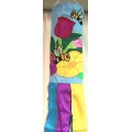 Floral Bee Wind Sock