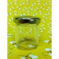 1 1/2oz Flint Glass Jar