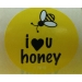 I  ♥ U Honey Stickers