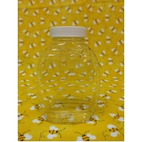 12oz Flat K-Resin Plastic Jar