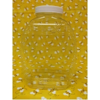 1lb Flat K-Resin Plastic Jar