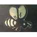 Gold Bee Stickers